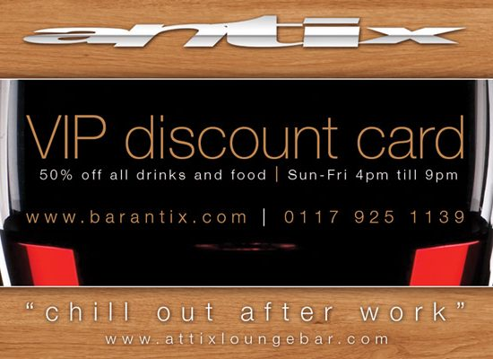 Bar Antix Park Street Bristol Blog Promotion