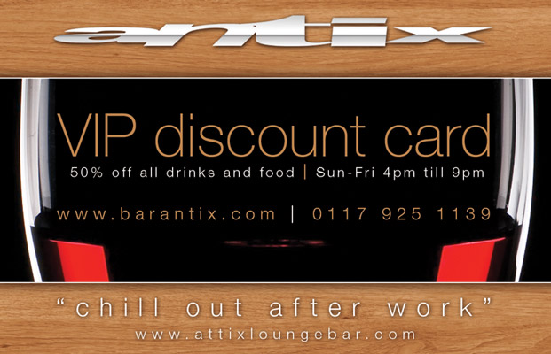 Bar Antix Park Street Bristol Blog Promotion